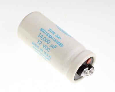 Sangamo 14000uf 12v Large Can Electrolytic Capacitor 500143u012ab2b