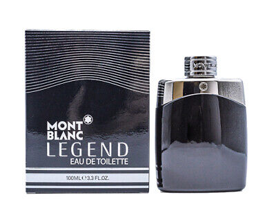 Mont Blanc Legend by Mont Blanc 3.3 / 3.4 oz EDT Cologne for Men New In Box