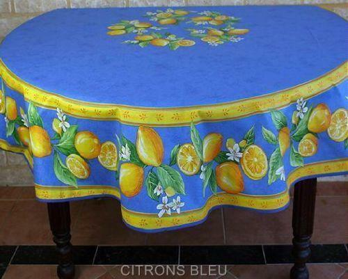 French Coated Tablecloth Ebay