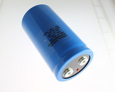 1x 6000uf 300v Large Can Electrolytic Capacitor 6000 Uf 300vdc 6000mfd W Stud