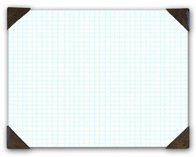 House of Doolittle Doodle Desk Pad, Quadrille, Refillable, 22 x 17 Inches (HOD41