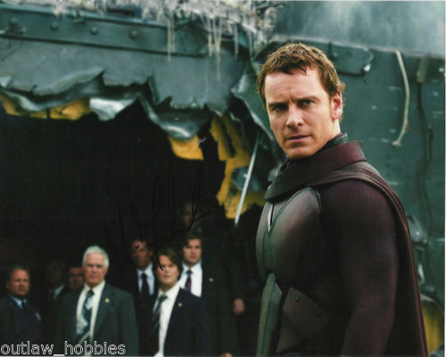 Michael Fassbender XMen Autographed Signed 8x10 Photo COA #J2