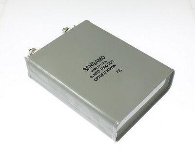 1x 4uf 1500v Dc Hermetically Sealed Paper Dielectric Oil Capacitor 4mfd 1500vdc