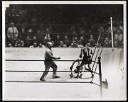 Vintage Boxing Photo