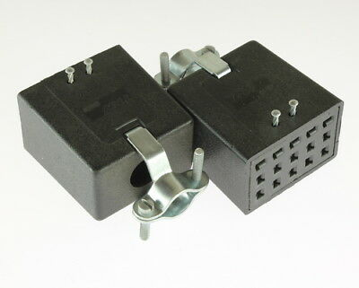 Lot Of 2 S-315-cct Cinch Connector Industrial Sockets