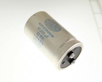 Sangamo 47000uf 15 Vdc Large Can Electrolytic Capacitor M3901804-2060m