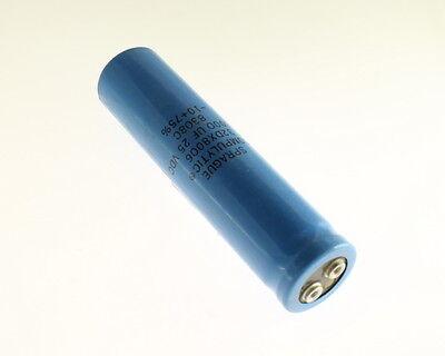 Lot Of 5 Sprague 32dx233g025af2a 23000uf 25v Large Can Electrolytic Capacitor