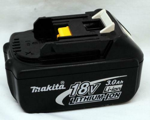 makita 18v battery used ebay. Black Bedroom Furniture Sets. Home Design Ideas