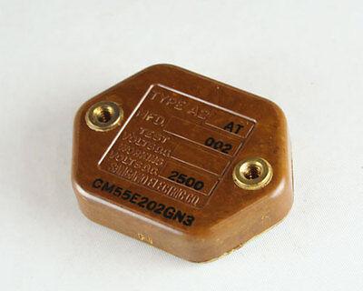 Lot Of 3 Sangamo Capacitor 0.002uf 2500v Silver Mica Transmitting Cm55e202gn3