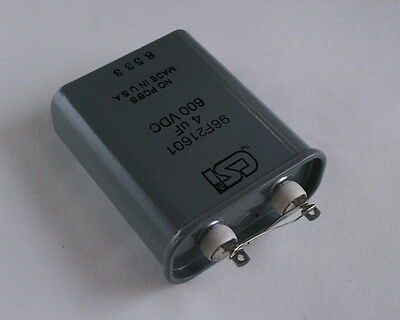 4uF 600VDC CSI Motor Run Capacitor 96F21601