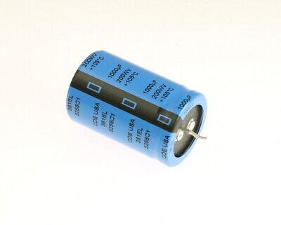 8x 1000uf 200v Dc Radial Snap In Mount Electrolytic Capacitor 200vdc 1000mfd