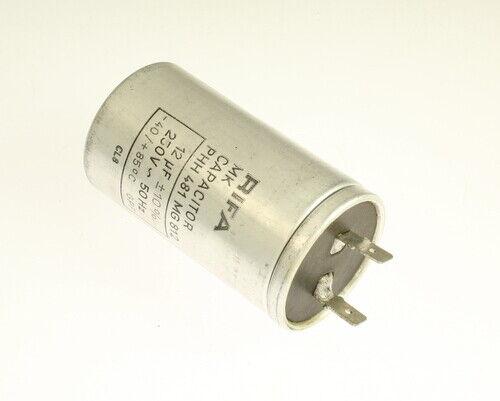 PHH481MG812 RIFA capacitor 12uF 250V Application Motor Run