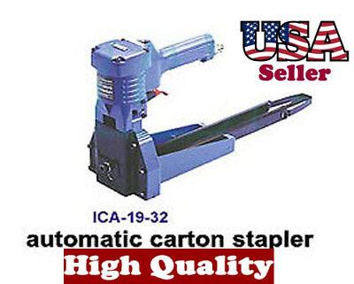1-38 Air Driven Pneumatic Carton Box Stapler Easy Use