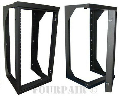 2ft Professional 12U Wall Mount Swing Out Network IT Data Server Rack 25