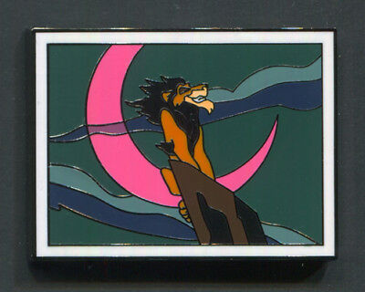 Disney Pin SCAR on Rock The Lion King 2017 Disney Films Mystery Collection
