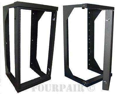 Wall Mount Swing Out Gate Network IT Steel Cabinet Data Rack - 25U - 18
