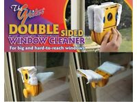 New Glider, Magnetic Window Cleaning Tool for Double Glazed Windows