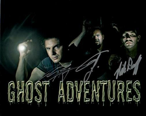GHOST ADVENTURES CREW CAST SIGNED PHOTO 8X10 RP AUTOGRAPHED ZAK BAGANS + ALL