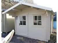 Merrano Log Cabin Summerhouse with FREE ROOFING SHINGLES