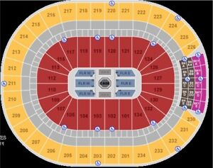 2 Drake tickets-  section 126, row 28