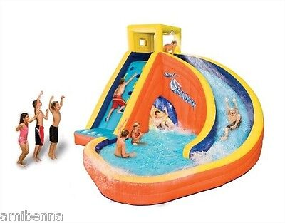 NEW Inflatable Bouncer Jumper Water Slide Backyard Splash Pool Fun Kids Play