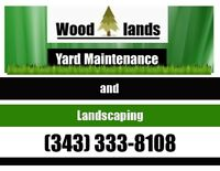 Landscaping and Yard Maintenance Services