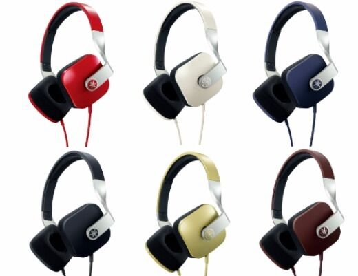 YAMAHA HPH-M82 Closed Dynamic Headphones Red Gold White Blue Brown Black NEW