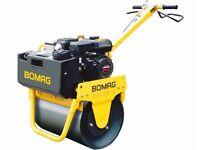 WANTED: Bomag BW55E Pedestrian Roller