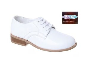 White-Tuxedo-Dress-Shoes-Toddler-to-Boy-Sizes-8-9-10-11-12 ...