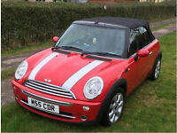 Mini Cooper convertible 2004 includes private plate