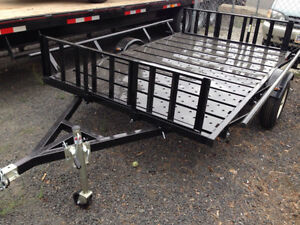 Marlon RAT-02 Steel Deck ATV/UTV Trailer