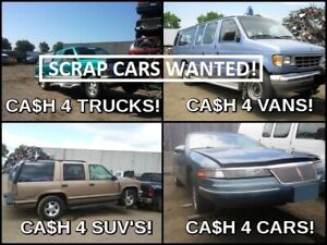 ✅VAUGHAN CASH FOR CARS | SCRAP-SALVAGE-USED-JUNK CARS |TOP CASH
