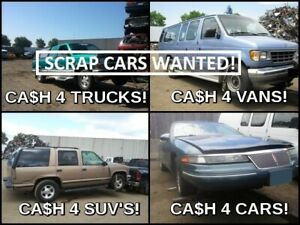 ➽➽AJAX+ MILTON ➽➽WE ARE THE HIGHEST PAID FOR SCRAP VEHICLES ⚠️
