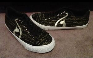 Black & Gold Baby Phat Shoes - Size 8