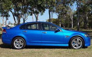 2009 Holden Commodore VE MY10 SV6 Blue 6 Speed Sports Automatic Sedan Bundaberg West Bundaberg City Preview