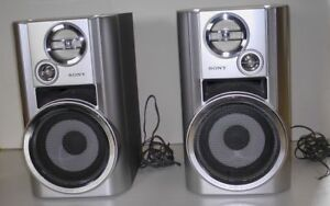 Sony SS-CHP7 3-way stereo speakers.