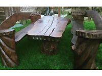 Unique table & chair set