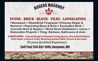 Rogers Masonry, Tile & Landscaping
