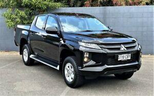 2019 Mitsubishi Triton MR MY19 GLX+ Double Cab Black 6 Speed Sports Automatic Utility