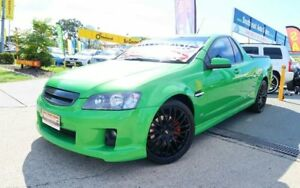 2009 Holden Ute VE MY10 SS Green 6 Speed Manual Utility