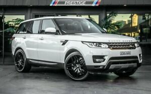2014 Land Rover Range Rover LW Sport 3.0 TDV6 SE White 8 Speed Automatic Wagon Bowen Hills Brisbane North East Preview