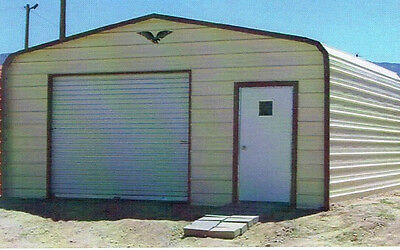 18 X 21 Enclosed Metal Garage Free Delivery Installation Prices Vary