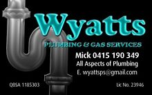 Wyatts Plumbing & Gas Services Upper Coomera Gold Coast North Preview