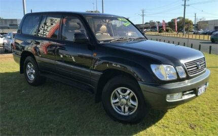 2002 Lexus LX470 UZJ100R (4x4) Black 4 Speed Automatic 4x4 Wagon Wangara Wanneroo Area Preview