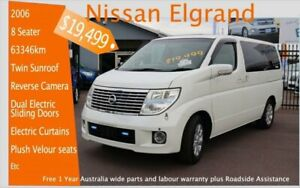 2006 Nissan Elgrand with sunroof