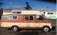 1982 dodge camper van for sale