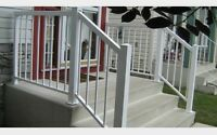 In search of aluminum railing