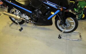 Sport Bike Front and Rear Track Stands