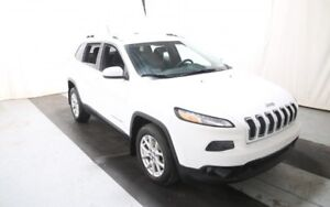 2014 Jeep Cherokee White SUV, Crossover