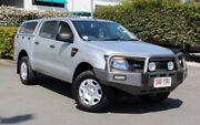 2011 Ford Ranger PX XL Double Cab Silver 6 Speed Manual Utility Acacia Ridge Brisbane South West Preview